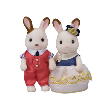 Cute Couple Rabbit Set CC