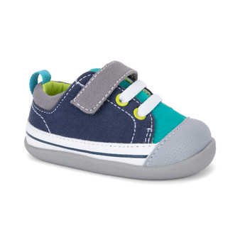 Stevie II INF Teal Navy