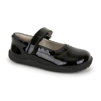 Jane II Black Patent