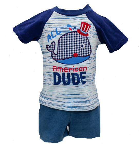 All American Dude 2pc 6M