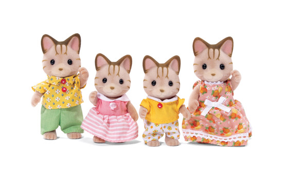 CC Sandy Cat Family