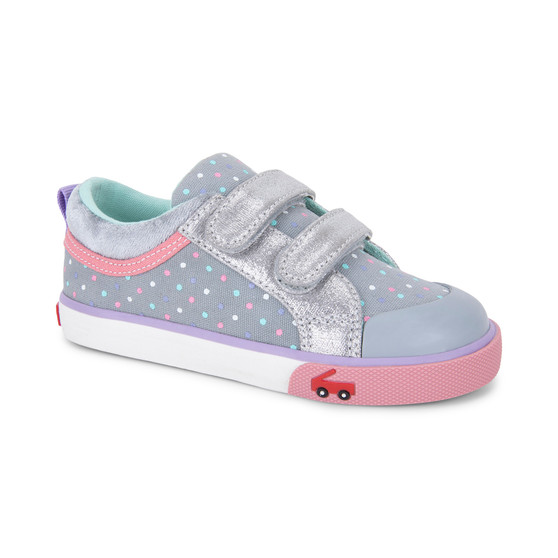 Robyne Gry Dots Silver