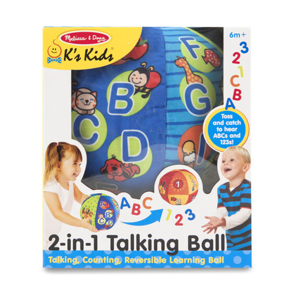 2-In-1 Talking Ball-Ks Kids