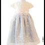 Antoinette Blue Cream Cap Sleeve 6