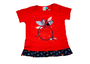 Red Apple Print Tunic