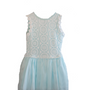 Aqua Crochet Dress
