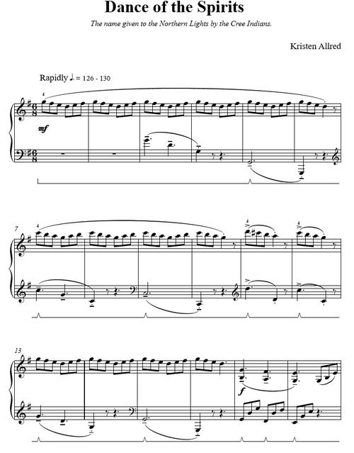 Nature's Cacophany Book 2 (Intermediate Piano Solos)