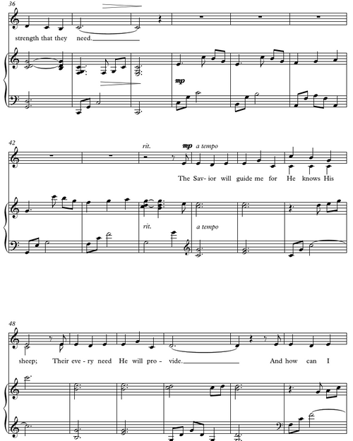 I'll Embark In the Service Of God (SA Duet) - Free Sheet Music PDF
