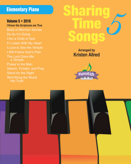 Sharing Time Songs Book 5 (Easy Piano Solos)