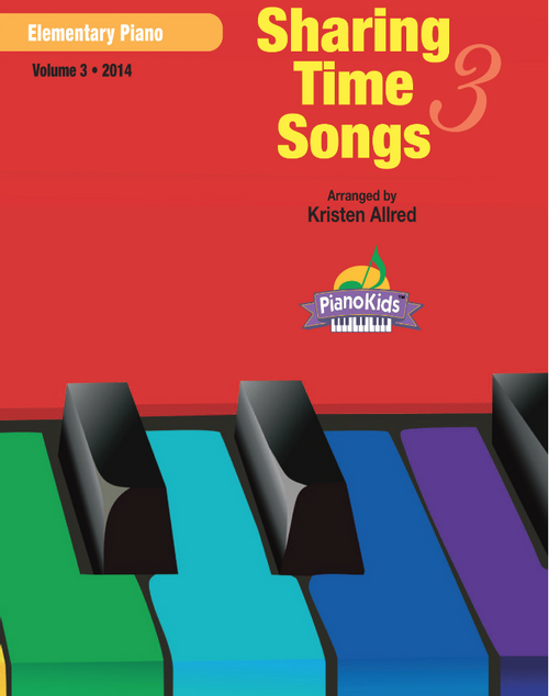 Sharing Time Songs Book 3 (Easy Piano Solos)