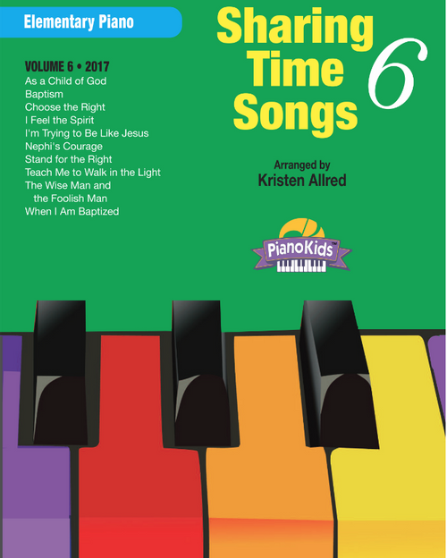 Sharing Time Songs Book 6 (Easy Piano Solos)