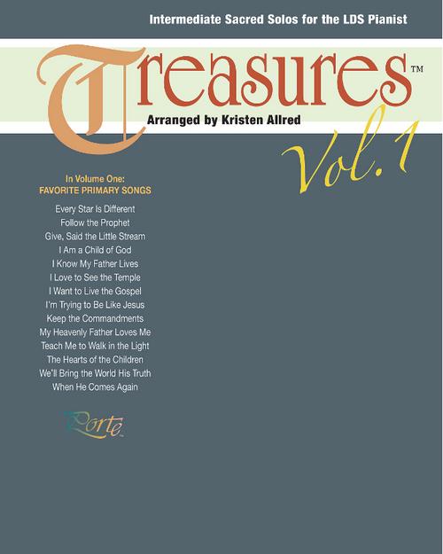 Treasures Vol. 1 (Intermediate Piano Solos)