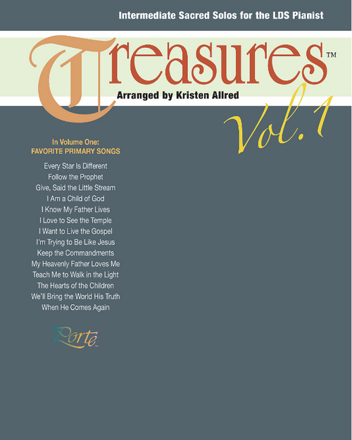 Treasures Vol. 1 (Intermediate Piano Solos)