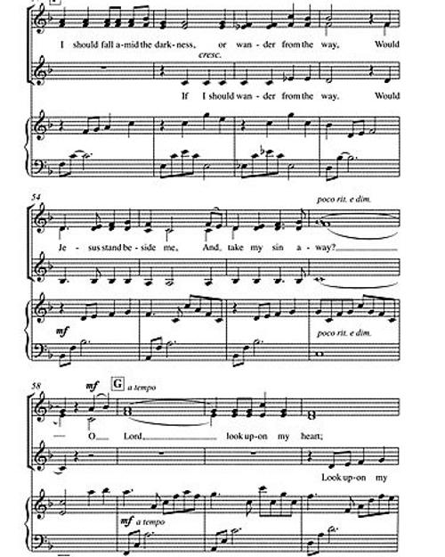 Look Upon My Heart (SSA Choir)