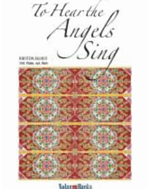 To Hear the Angels Sing (SAB Choir) Christmas Sheet Music