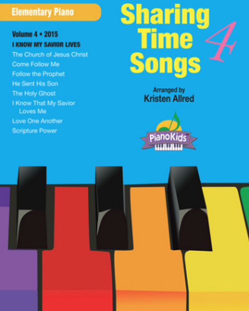 Sharing Time Songs Book 4 (Easy Piano Solos)