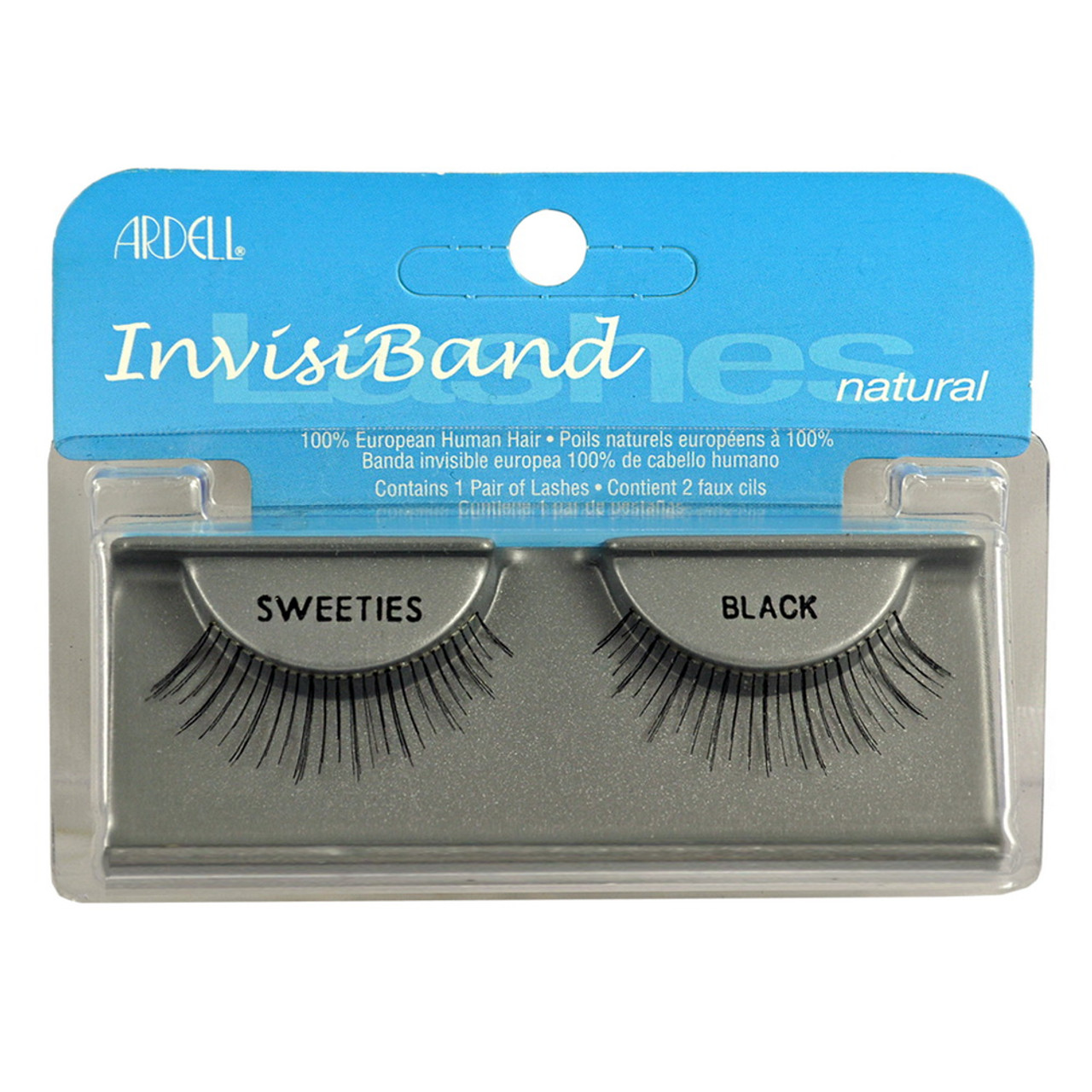 31ebdd5f224 These lashes feature an invisible, lightweight band that connects the hair  strands to form a