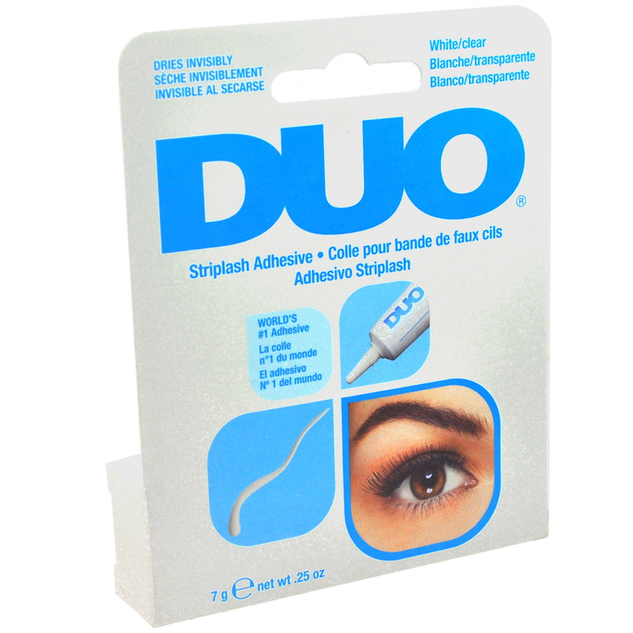 df624112b5f Check fit: Align band with natural lash line. Thim excess if necessary.  Apply