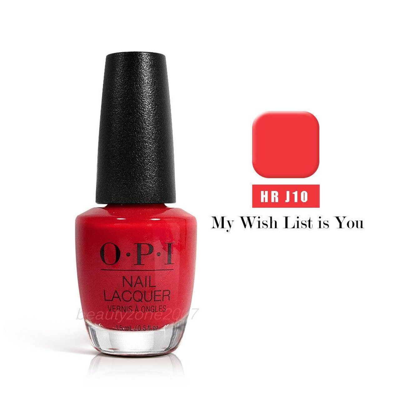 OPI Nail Polish Lacquer HRJ10 My Wish List Is You .5floz 15ml - BeautyChain