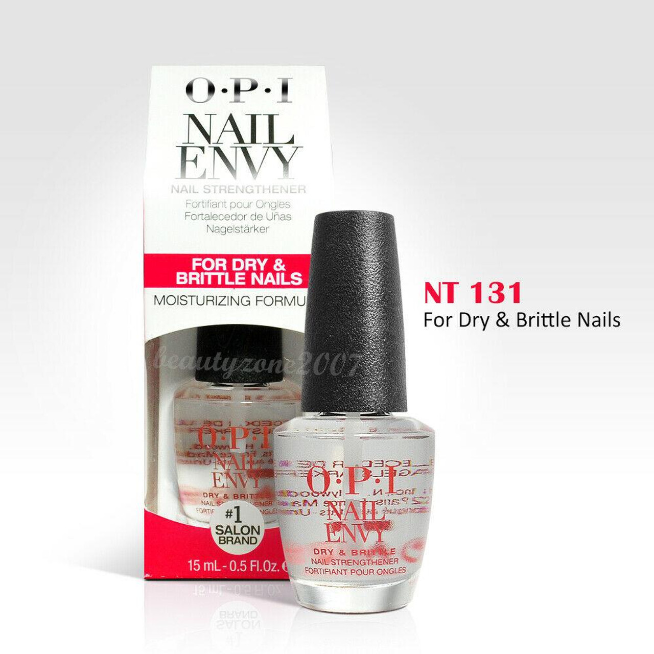 OPI NT131 Nail Strengthener For Dry & Brittle Nails with Humectants ...