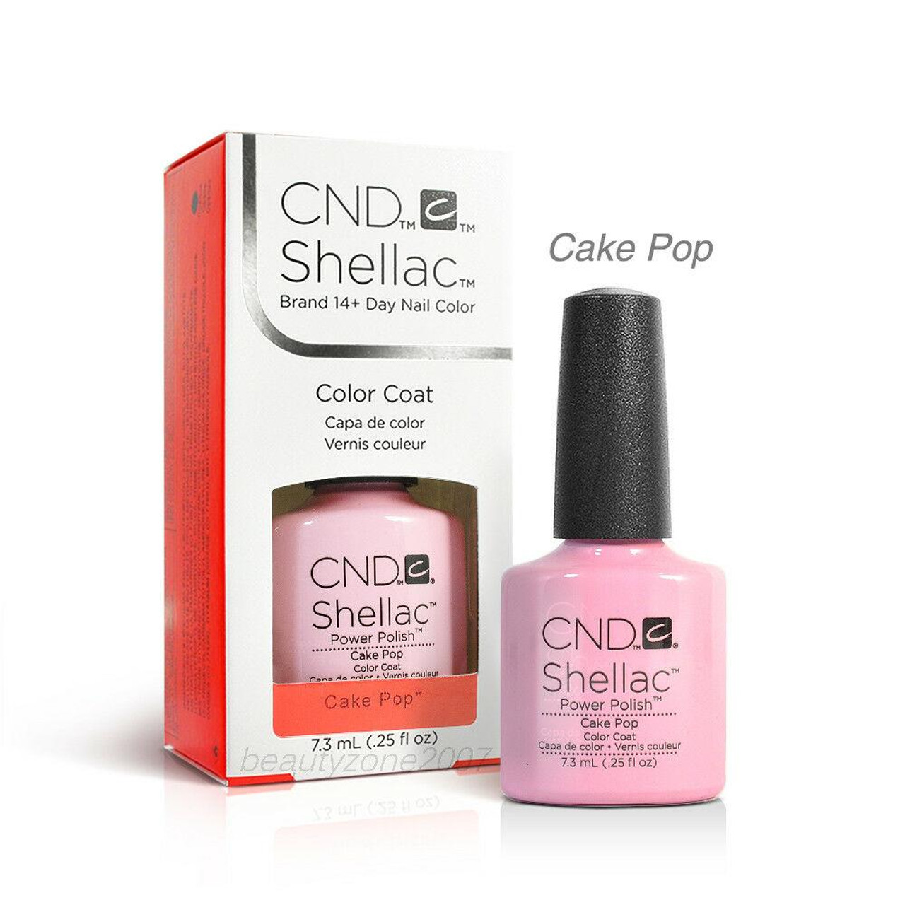 Cnd Shellac Uv Gel Polish Cake Pop 0 25oz