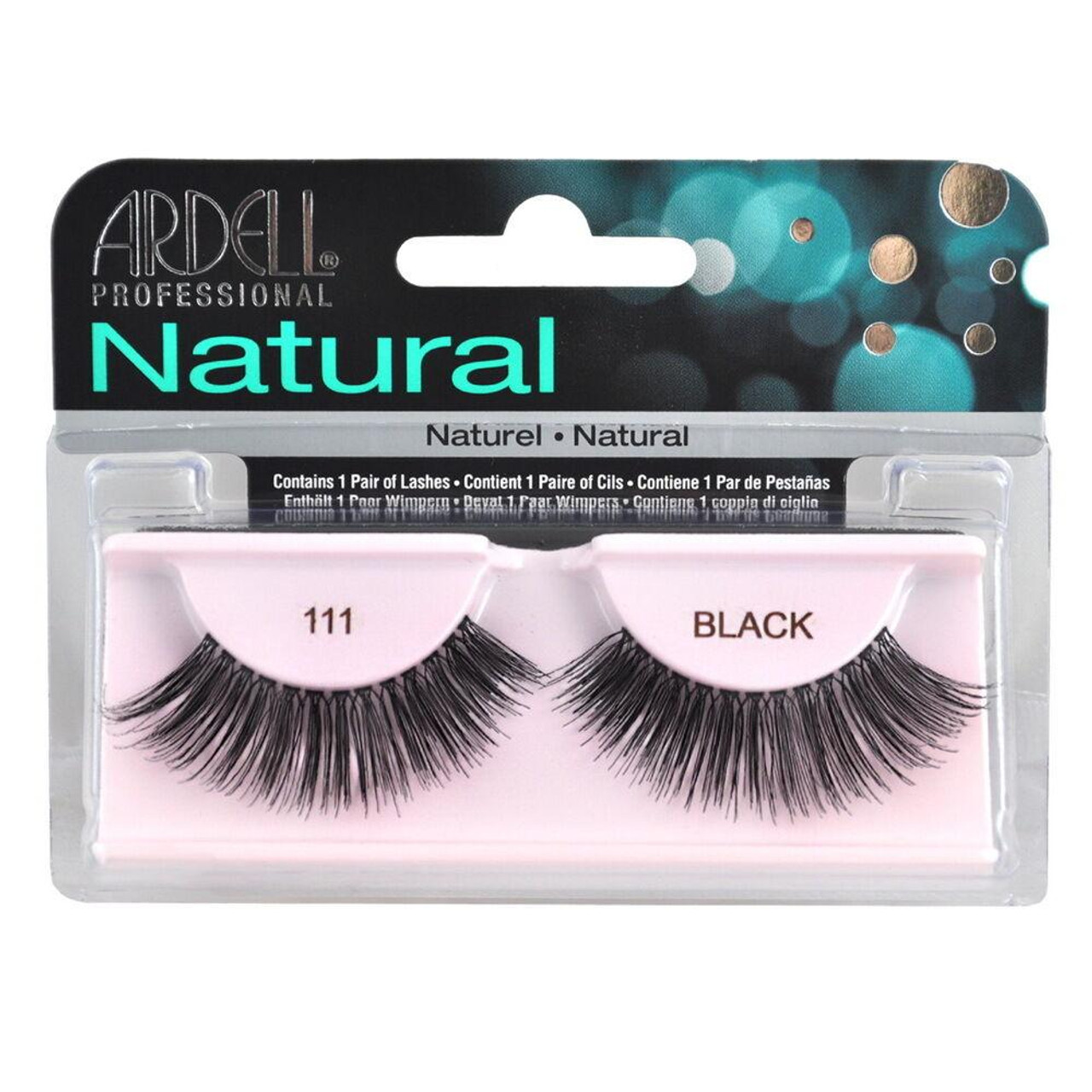 1f31bb1d0e8 2 Pairs x Ardell Natural Lashes #111 False Eyelashes Fake Lash Eyelash Black  - BeautyChain