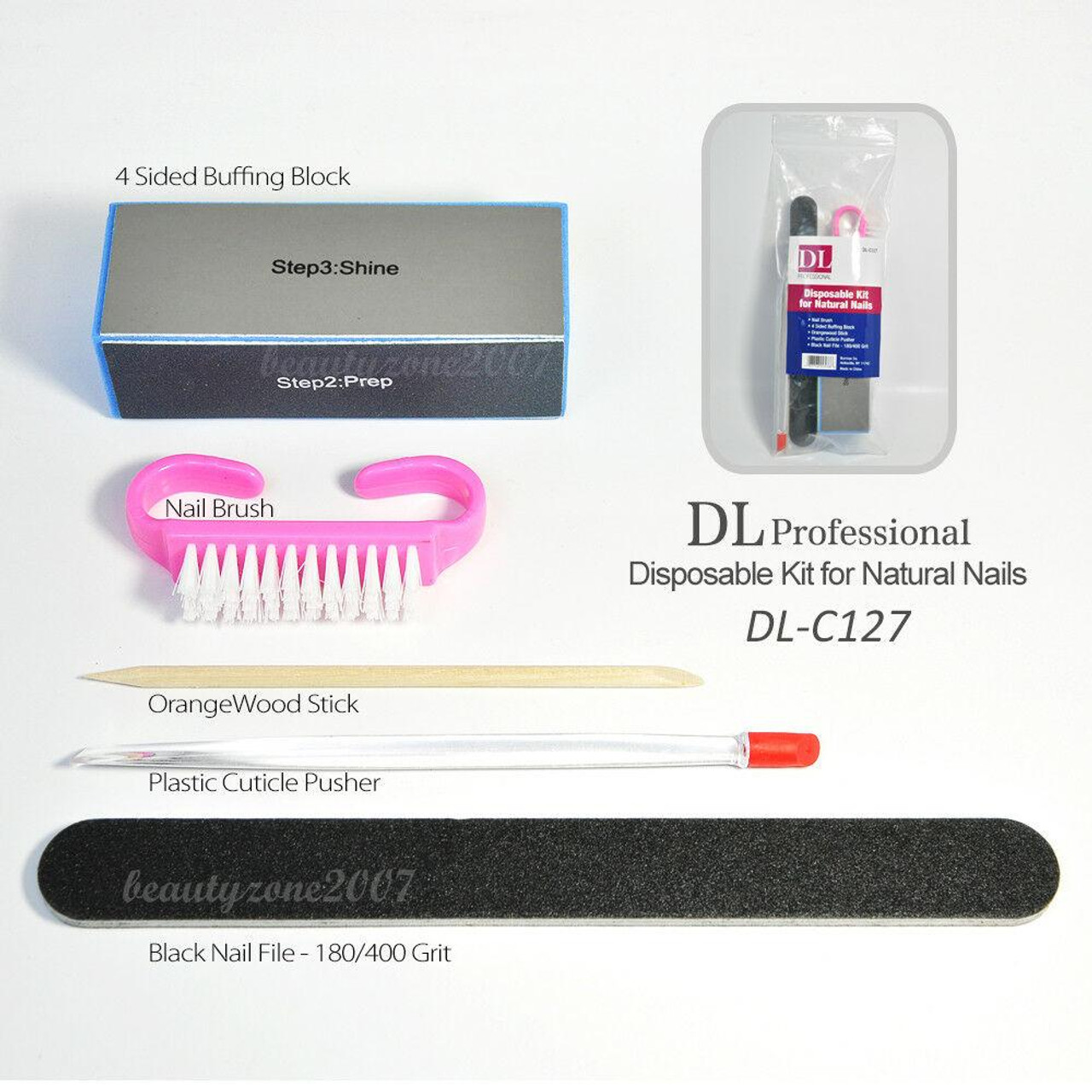 DL-C127 Disposable Kit for Natural Nails - BeautyChain