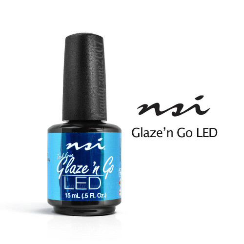 NSI LED Glaze N Go UV Gel Sealant 0.5 oz/15ml - #5307