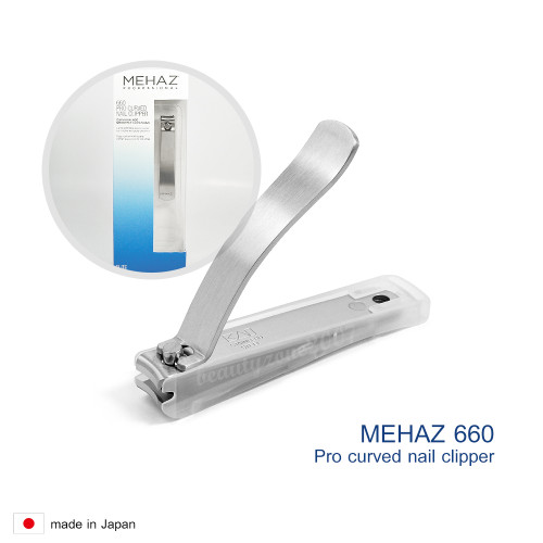 Mehaz #660 Stainless Steel Professional Curved Nail Clipper