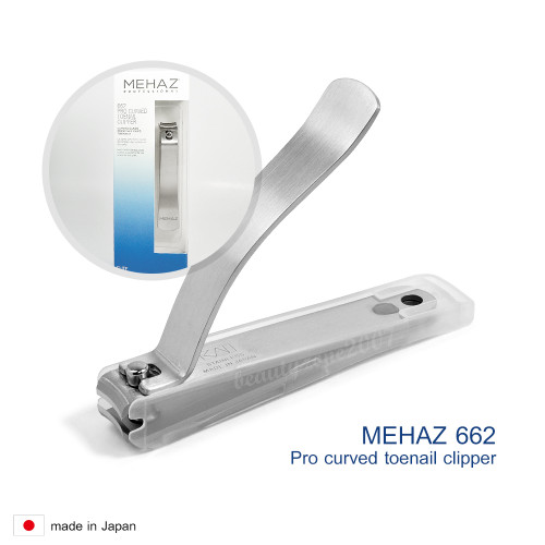 Mehaz #662 Stainless Steel Professional Toenail Nail Clipper