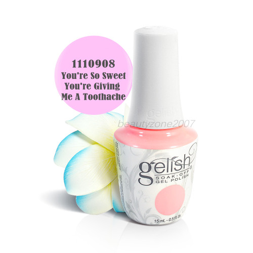 Harmony Gelish Soak Off Gel 1110908 You're So Sweet You're Giving Me A Toothac