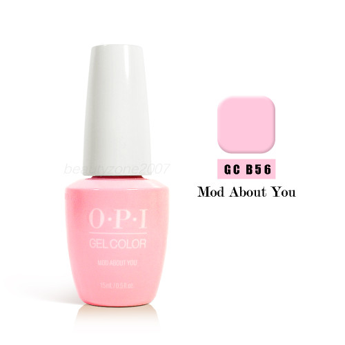 OPi Soak Off GelColor GC B56 Mod About You 0.5oz