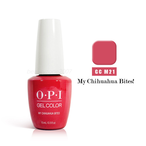 OPI Soak Off GelColor GC M21 My Chihuahua Bites 0.5oz