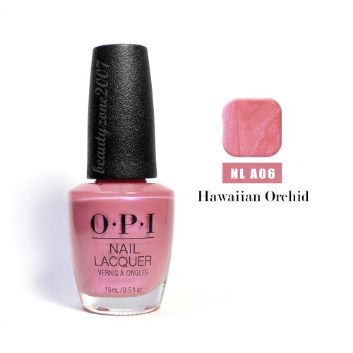 OPI Nail Polish A06 Hawaiian Orchid 0.5oz