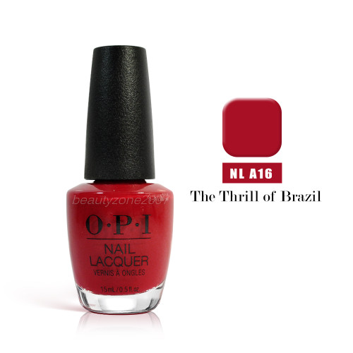 OPI Nail Polish A16 The Thrill of Brazil 0.5oz