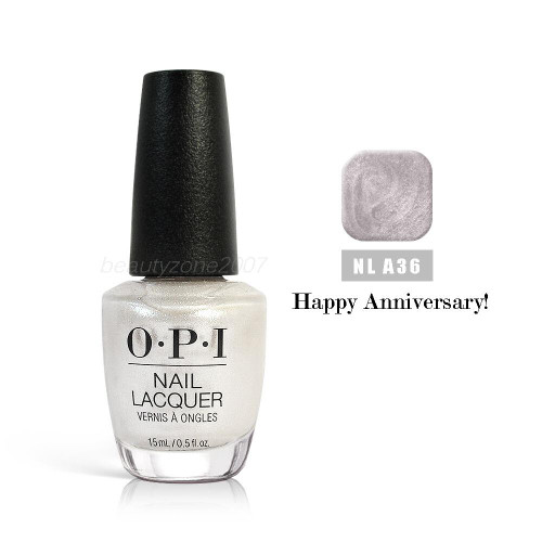 OPI Nail Polish A36 Happy Anniversary! 0.5oz
