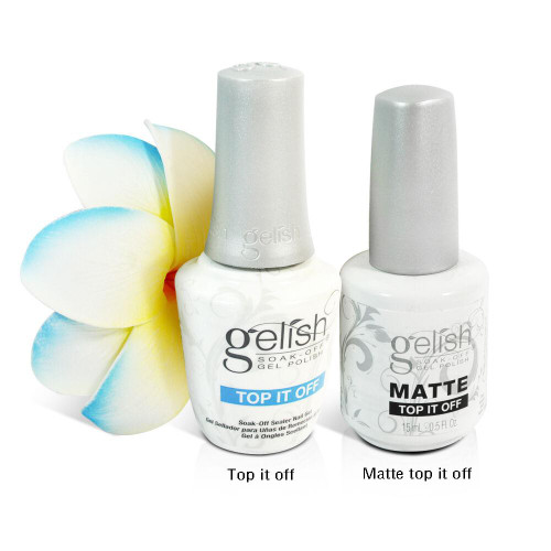 Harmony Gelish Matte & Gloss DUO Top It Off - 0.5oz / 15mL #01519