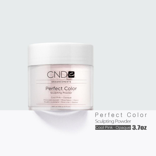 CND Creative Nail Perfect Color Powder Cool Pink - Opaque 3.7oz