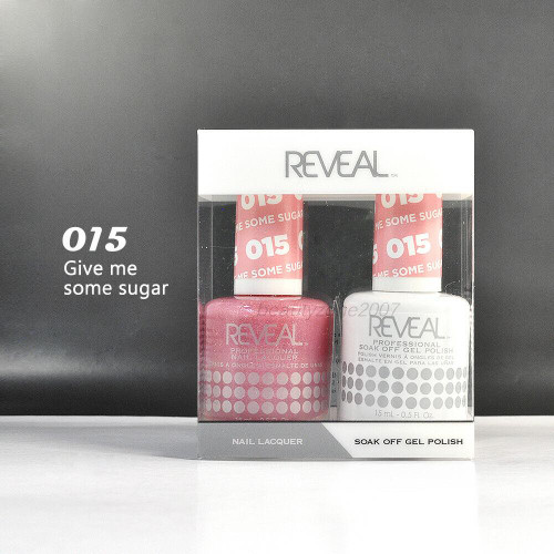 Reveal Gel Polish & Nail Lacquer Matching Duo ##015 Give Me Some Sun 1