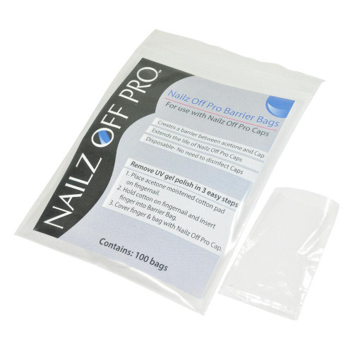 Nailz OFF Pro Barrier Bags 100 bags