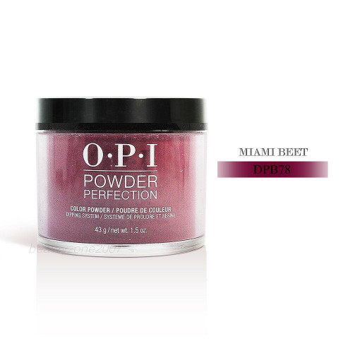 OPI Color Dip Powder DPB78 Miami Beet 1.5oz