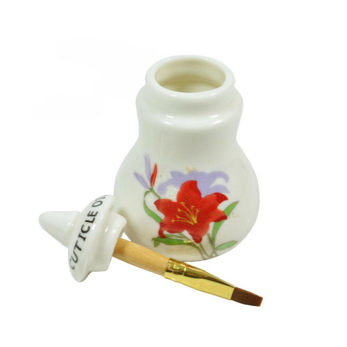 DL Professional DL-C307 Small Cuticle Oil Jar with Brush 50ml