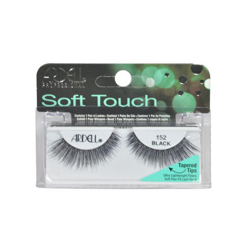 Ardell Soft Touch Tapered Tip Lashes #152 Black