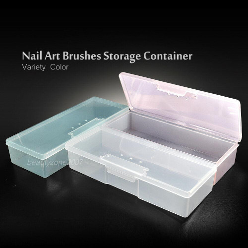 Case Box Holder for Nail Art Brushes Storage Container Variety Color