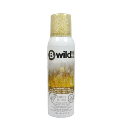 Jerome Russell Bwild Temporary Hair Color Spray - Gold & Silver 3.5oz