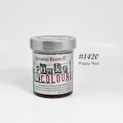 Jerome Russell Punky Colour Hair Color - #1420 Poppy Red 3.5oz