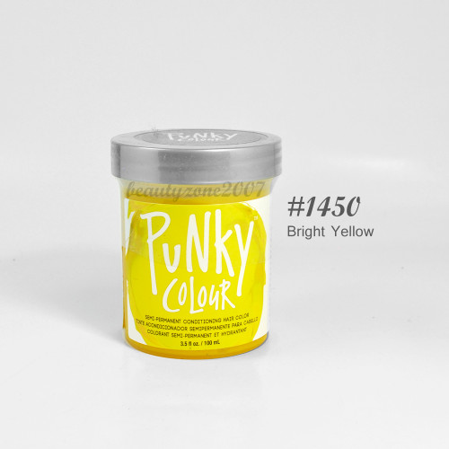 Jerome Russell Punky Colour Hair Color - #1450 Bright Yellow 3.5oz