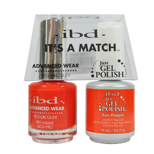 ibd It's A Match Advanced Wear Just gel & Nail Lacquer - 65506 Eye-Poppie 0.5oz