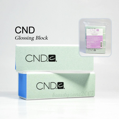 CND Gloss Buffer Block 4000 grit/Slick surface - 4pc