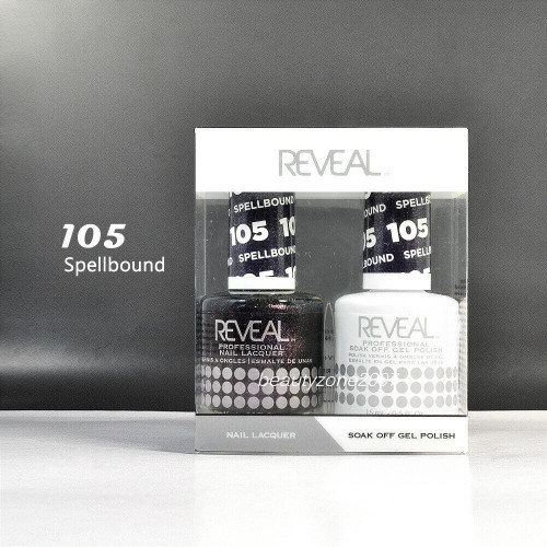 Reveal Gel Polish & Nail Lacquer Matching Duo #105 - Spellbound 1